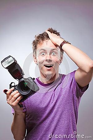 Free Portrait Of Photographer Stock Photo - 14304640