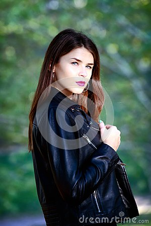 Free Portrait Of Russian Girl, Half Bust, Natural Light, Close-up. Royalty Free Stock Images - 103786859