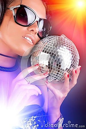 Free Portrait Of Sexy DJ Royalty Free Stock Photos - 20626848