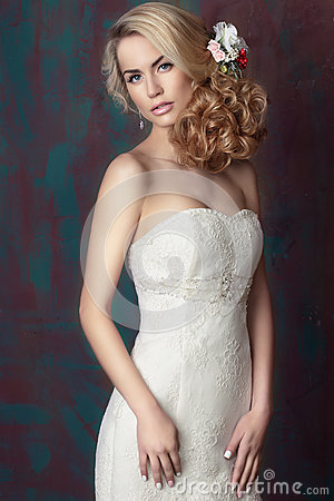Free Portrait Of The Bride. Stock Photography - 72891132