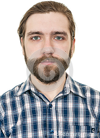 Free Portrait Of The Man With A Beard Stock Image - 38991111