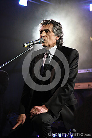 Free Portrait Of The Popular Italian Composer Toto Cutugno . Photo Ta Stock Images - 40627754