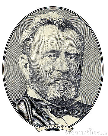 Free Portrait Of Ulysses S. Grant Royalty Free Stock Image - 3579236