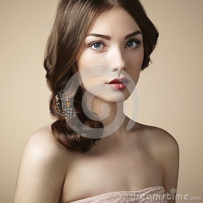 Free Portrait Of Young Beautiful Girl Stock Photography - 29870052