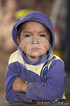 Free Portrait Of Young Kid, Venezuela Stock Image - 57972931
