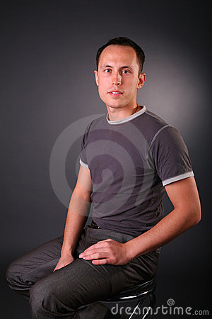 Free Portrait Of Young Man Royalty Free Stock Images - 4965409