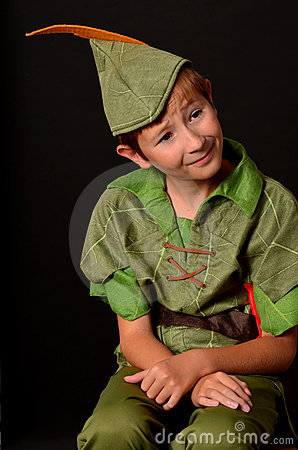 Portrait Peter Pan