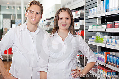 Portrait of Pharmacist Technicians