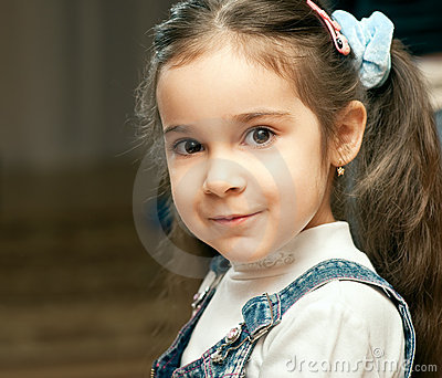Portrait Of Preschool Child Royalty Free Stock Photos - Image: 8479858