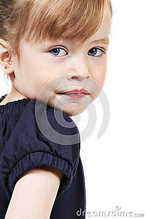 Portrait of preschool girl