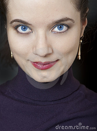 Portrait of a pretty girl