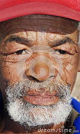 Portrait of an senior African man