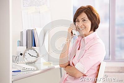 Portrait of senior professional at office