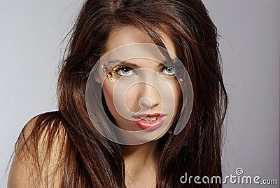 Portrait sexy woman