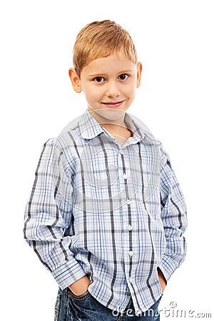 Portrait of  smiling kid