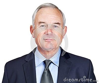 Portrait of a smiling mature business man