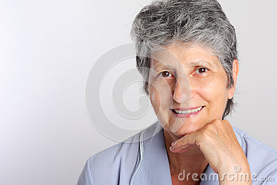 Portrait Of Smiling Senior Woman