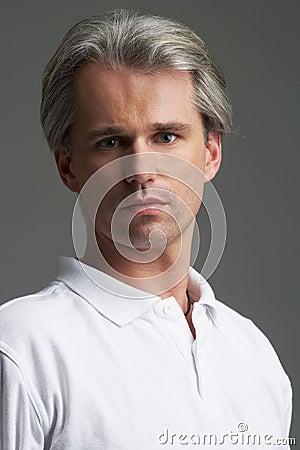 Portrait of sporty man