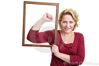 Portrait of a strong woman