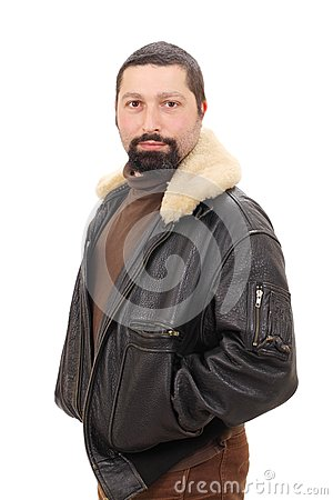 Portrait of a stylish man