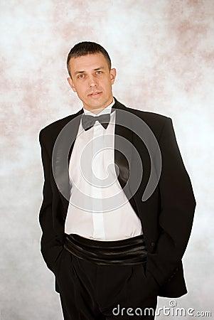 Portrait of the successful man