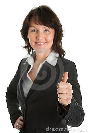 Portrait of sucessful senior businesswoman
