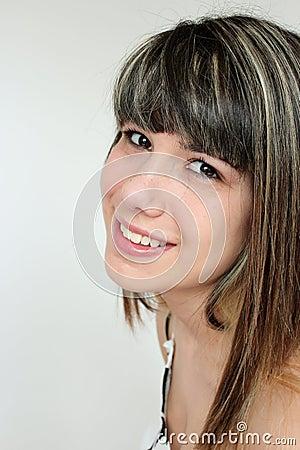 Portrait of teen girl