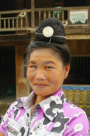 Portrait of a Thai woman