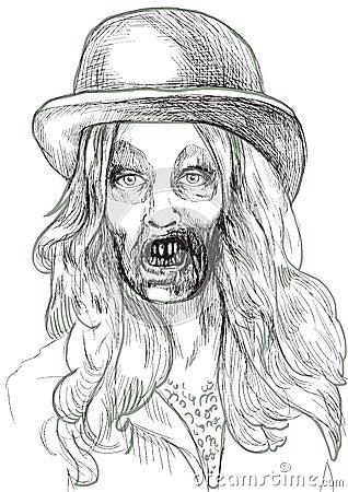 Portrait of an undead 1