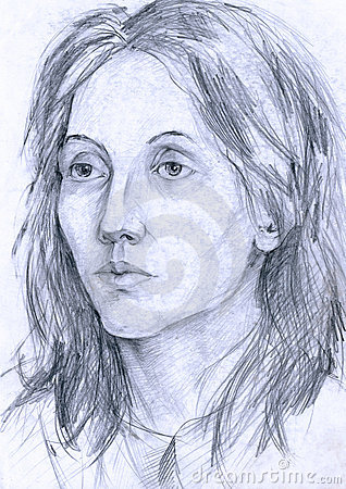 Portrait of unknown woman 3