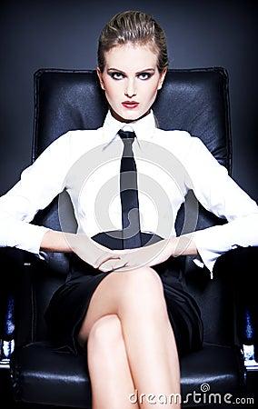 Portrait of Urban Business woman