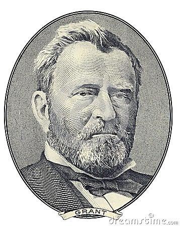 Portrait von Ulysses S. Grant