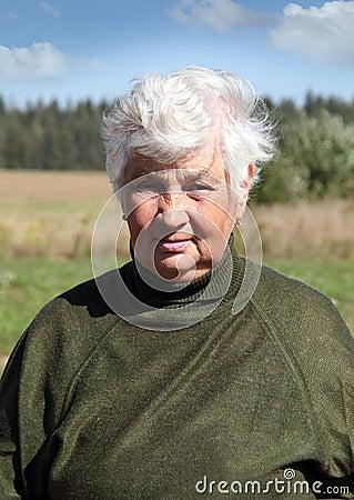 Portrait of a woman agronomist