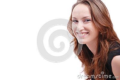 Portrait woman - copy space
