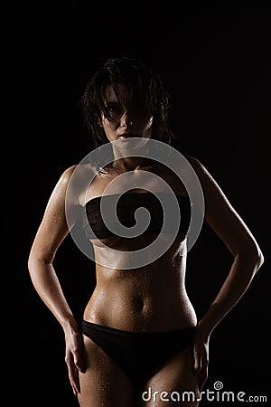 Portrait Of Woman In Underwear Free Public Domain Cc0 Image