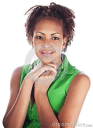 Portrait of wonderful african women