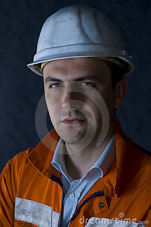 Portrait of a worker