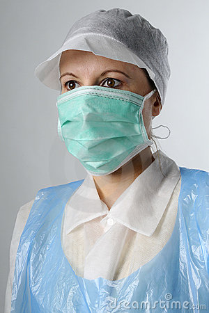 Portrait of worker in food industry