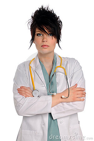 Portrait of Young Health Care Provider