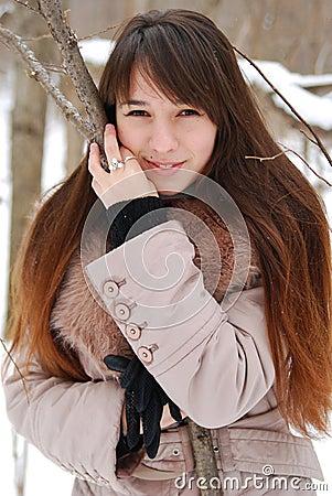 Portraits beautiful girl