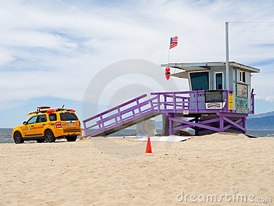 Portraits of Hope Lifeguard Tower Editorial Photography