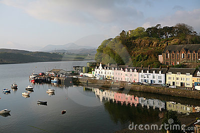 Portree Harbour, Skye, Scotland