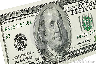 Portret Benjamin Franklin