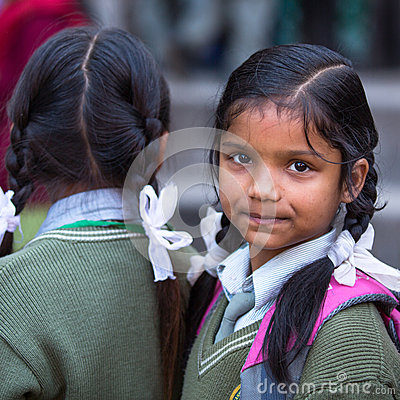 Free Portret Of Unidentified Nepalese Child During An Excursion To King Tribhuwan Memorial Museum Stock Image - 36273841