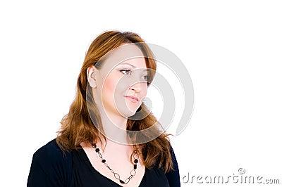 Portret piękna kobieta