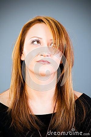 Portret van de vrouw