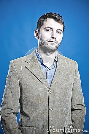 Portret van een bedrijfsmens