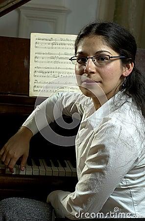 Portret van een Pianist