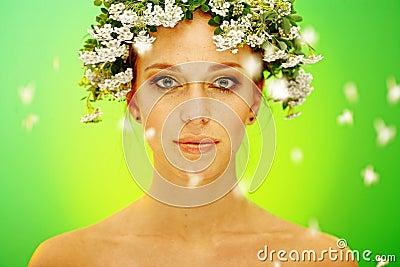 Portreta lato kobieta