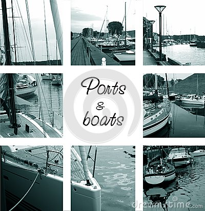 Ports and boats